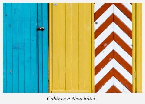 cabines-de-plage-lac-de-Neuchatel-Suisse