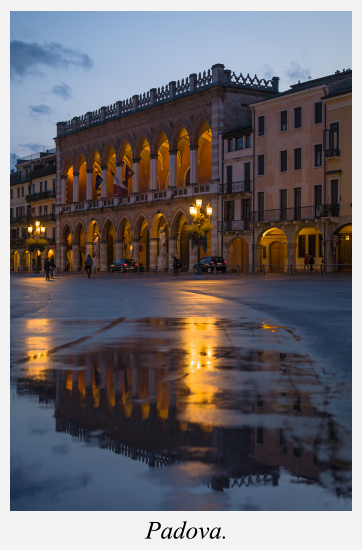 place-padoue-venetie-italie