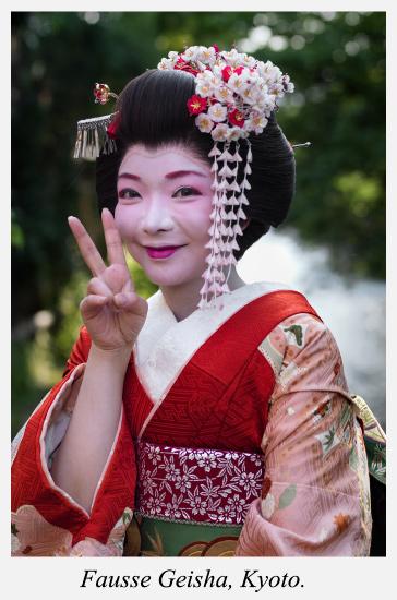 Fausse-Geisha-Kyoto