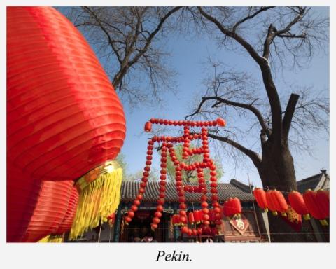 Lampions-Pekin
