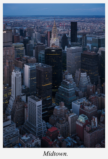 Midtown-New-York-depuis-l-Empire-state-Building