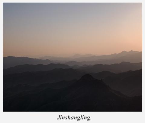 montains-north-Jinshangling-China